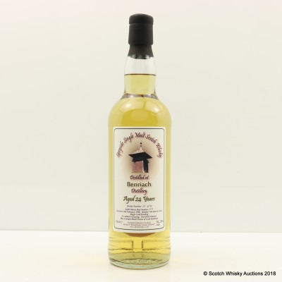 BenRiach 1990 24 Year Old Whisky Broker