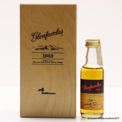 Glenfarclas 1953 58 Year Old Mini 5cl