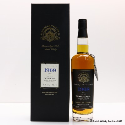 Bowmore 1968 40 Year Old Duncan Taylor