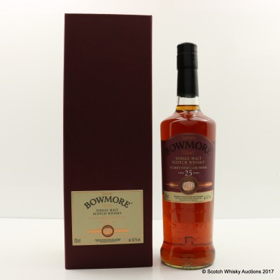 Bowmore Feis Ile 2016 25 Year Old Claret Finish