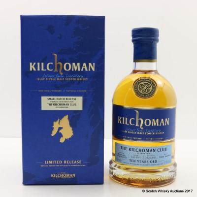 Kilchoman 2007 10 Year Old Single Cask Release For The Kilchoman Club 6th Edition