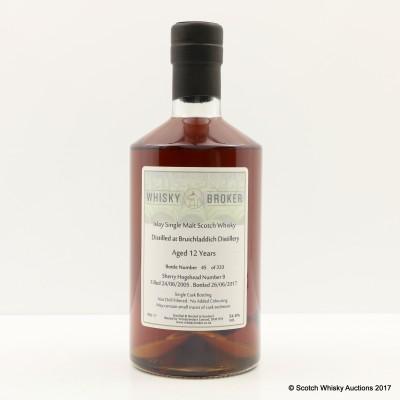 Bruichladdich 2005 12 Year Old Whisky Broker