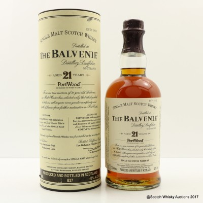 Balvenie 21 Year Old PortWood 75cl