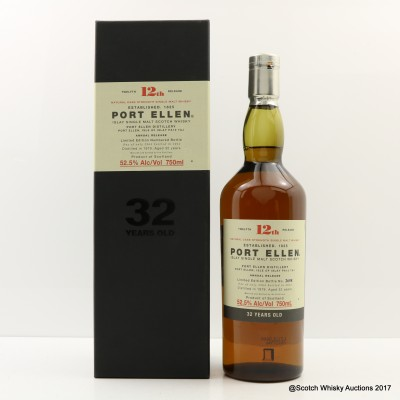 Port Ellen 12th Annual Release 1979 32 Year Old 75cl