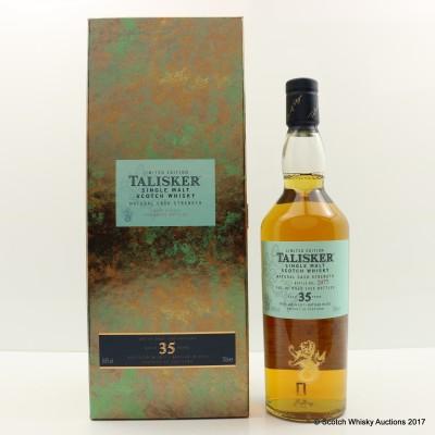 Talisker 1977 35 Year Old 2012 Release