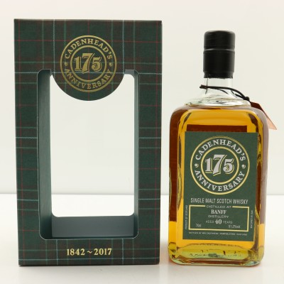 Banff 1976 40 Year Old Cadenhead's