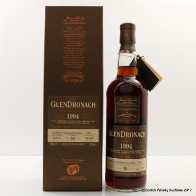 GlenDronach 1994 20 Year Old Single Cask #3398