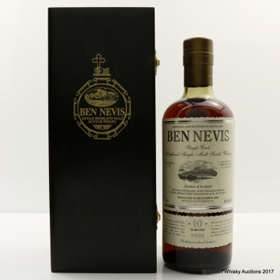 Ben Nevis 2002 10 Year Old White Port Cask #334