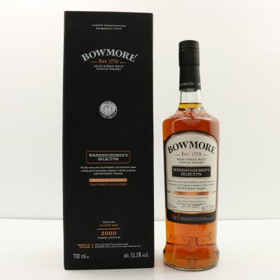 Bowmore 1999 17 year Old Warehousemen's Selection