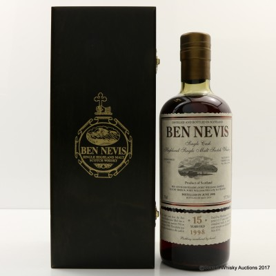 Ben Nevis 1998 15 Year Old Single Cask #590