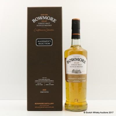Bowmore 1999 14 Year Old Mashmen's Selection