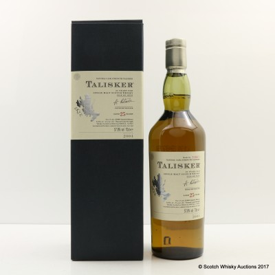 Talisker 25 Year Old 2004 Release