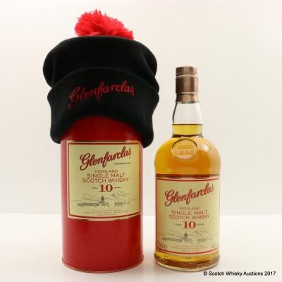 Glenfarclas 10 Year Old with Bobble Hat