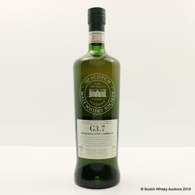 SMWS G3.7 Caledonian 1982 30 Year Old