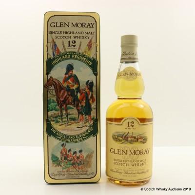 Glen Moray 12 Year Old Highland Regiments The Argyll And Sutherland Highlanders