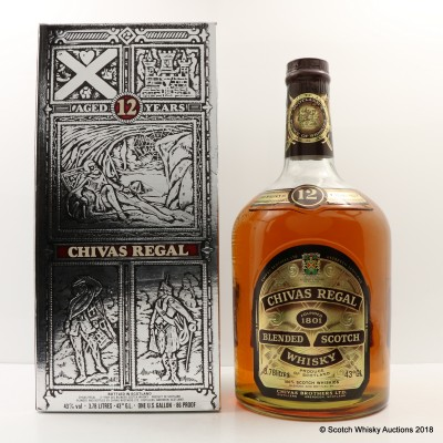 Chivas Regal 12 Year Old 1 Gallon With Pump
