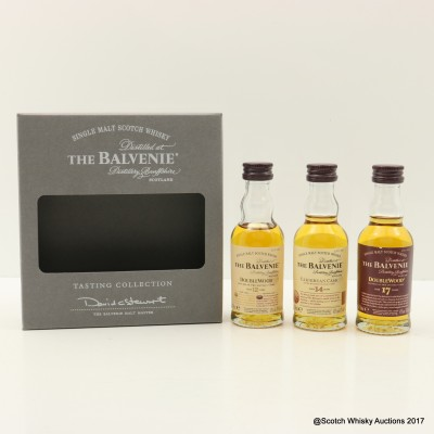 Balvenie Tasting Collection Minis 3 x 5cl