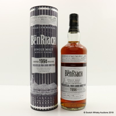 BenRiach 1998 16 Year Old Single Cask #5171