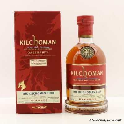 Kilchoman 2006 10 Year Old For The Kilchoman Club 5th Edition