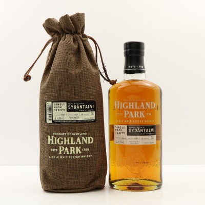 Highland Park 2001 15 Year Old Single Cask #2155 For Sydantalvi