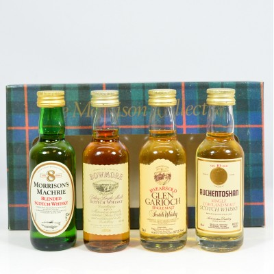 Morrisons Collection Minis 4 x 5cl