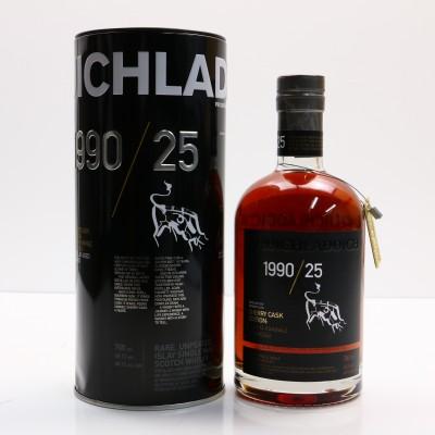 Bruichladdich 1990 25 Year Old Sherry Cask Edition