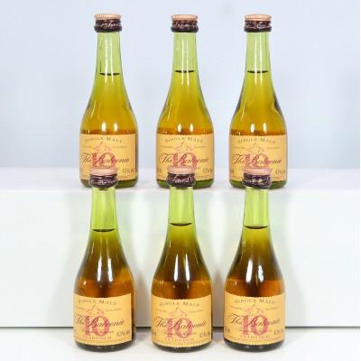Balvenie Founder's Reserve 10 Year Old Cognac Bottle Minis x 6