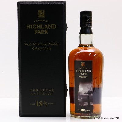 Highland Park 18 Year Old Lunar Bottling