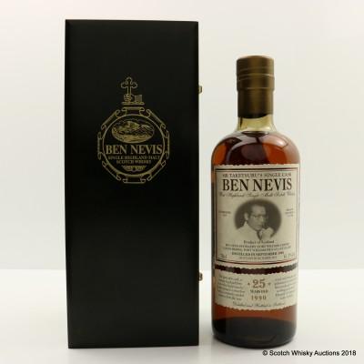Ben Nevis 1990 25 Year Old Mr Taketsuru's Single Cask