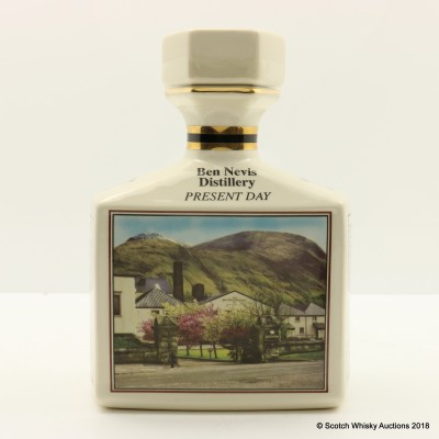 Ben Nevis 10 Year Old Pointer's Decanter Celebrating 190 Years