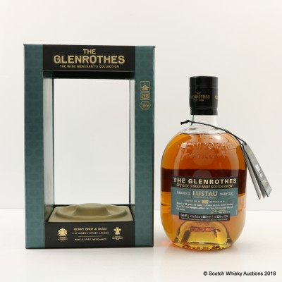 Glenrothes 1992 24 Year Old Lustau Sherry Cask Finish