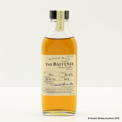 Balvenie Single Cask #602 Duty Paid Sample 10cl