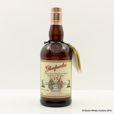 Glenfarclas 15 Year Old For The 48th Highlanders Of Canada To Commemorate The Centennial Of The Battle Of Vimy Ridge