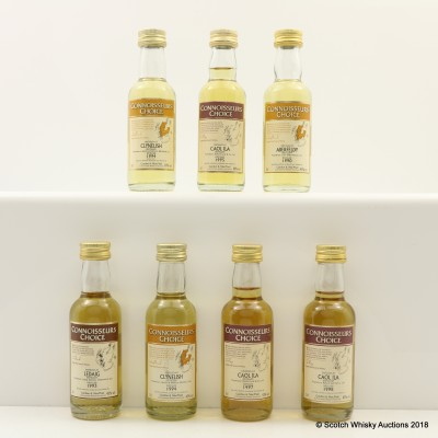 Assorted Connoisseurs Choice Minis 7 x 5cl Including Clynelish 1994