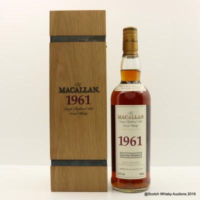 Macallan Fine & Rare 1961