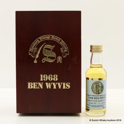 Ben Wyvis 1968 Signatory Mini 5cl