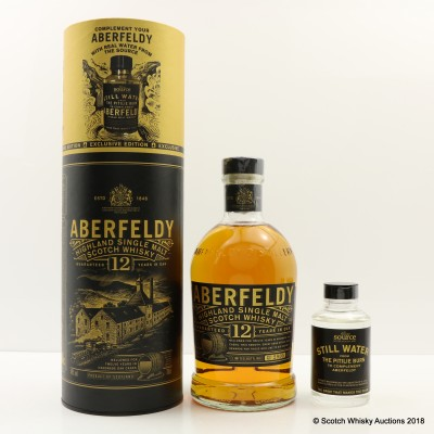 Aberfeldy 12 Year Old With Pitilie Burn Water 9.5cl