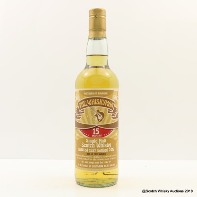 Bowmore 1997 15 Year Old Whiskyman