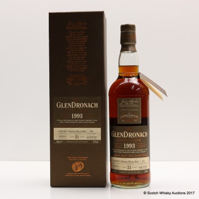 Glendronach 1993 21 Year Old Single Cask #494