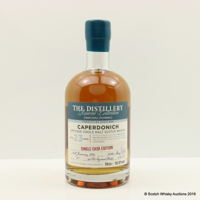 Caperdonich 1994 23 Year Old Distillery Reserve Collection