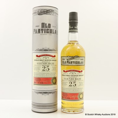 Glenburgie 1992 25 Year Old Old Particular
