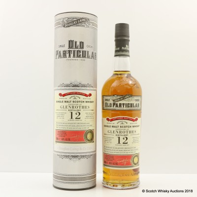 Glenrothes 2005 12 Year Old Old Particular