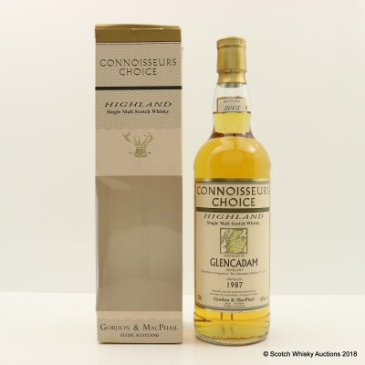 Glencadam 1987 Connoisseurs Choice
