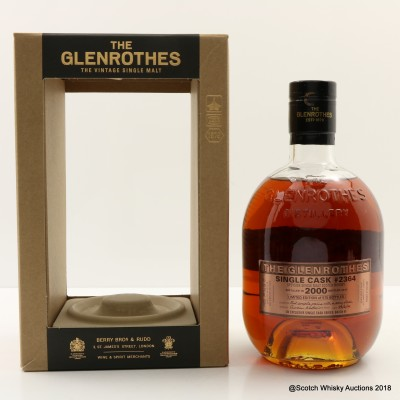 Glenrothes 2000 UK Exclusive Single Cask #2364