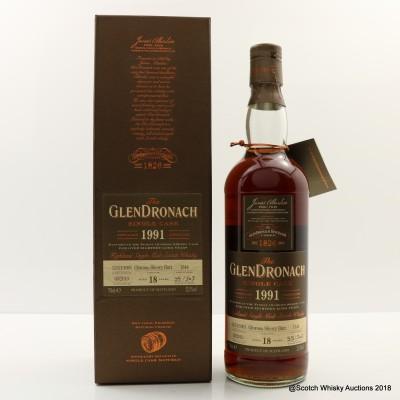 GlenDronach 1991 18 Year Old Single Cask #1344
