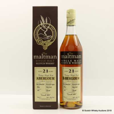 Aberlour 1994 21 Year Old Maltman