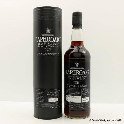 Laphroaig 1980 27 Year Old
