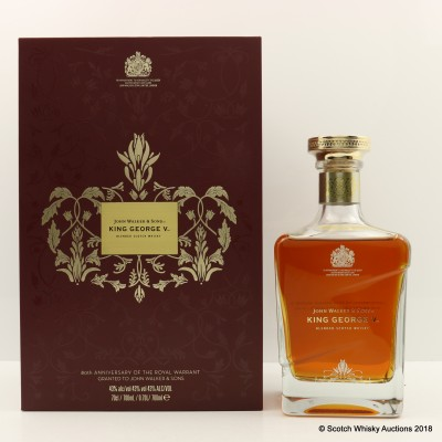 Johnnie Walker King George V 80th Anniversary Of The Royal Warrant