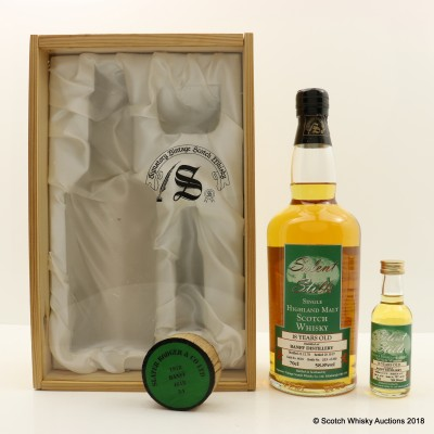 Banff 1978 18 Year Old Silent Stills Signatory With Matching Mini 5cl
