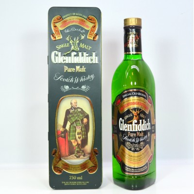 Glenfiddich Clans Of The Highlands Of Scotland Campbell Of Breadalbane Pure Malt 75cl
